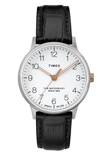 TIMEX black and silver Timex Women's Watch TW2R72400 Style Originals Waterbury Classic  86723ACF0E37CFGS_1