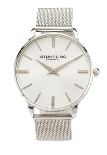 Stuhrling Original silver Preston 3998 Watch 67212AC54E8A59GS_1
