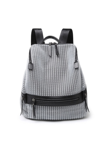 Lara grey Womoen's Top-Handle Backpack 61884ACCD39D57GS_1