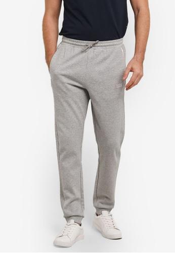Boss Green grey Hivon Long Pants - Boss Athleisure BO516AA0RIC5MY_1