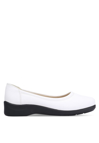 Louis Cuppers white Comfy Flats LO977SH0RKBNMY_1