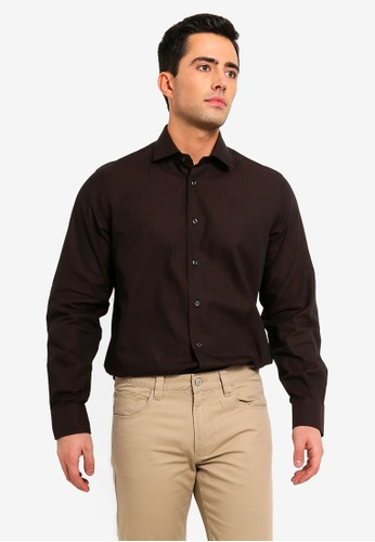 b0d028afd3 Buy OVS Mens Formal Shirt With Long Sleeves Online on ZALORA Singapore