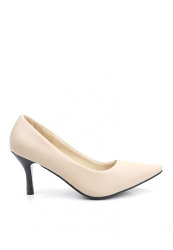 KissXXX 低反發舒適感美腿效果7CM小尖頭高跟鞋 KI603SH09MPJTW_1