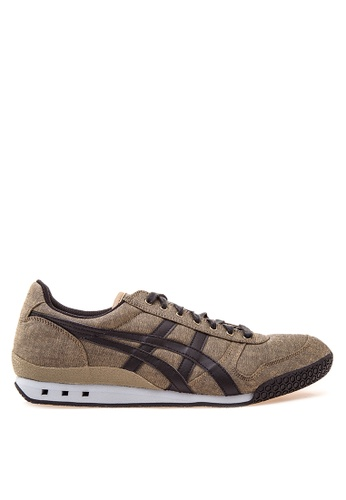 Onitsuka Tiger black and brown Ultimate 81 Lace-up Sneakers ON625SH24YVRPH_1