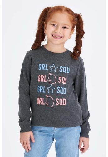 DeFacto grey Long Sleeve Round Neck Sweatshirt FE460KA630B50DGS_1