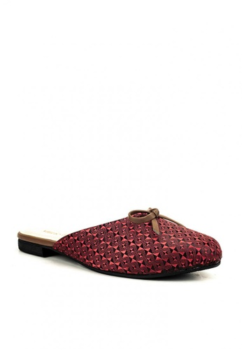 Mario D' boro Runway red Midred Flats D200DSH1A1A7F9GS_1