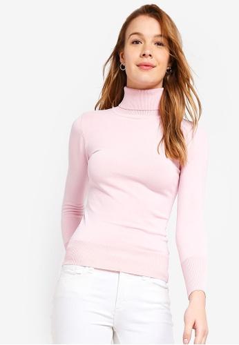 9e27490d82 Buy ZALORA BASICS Basic Polo Neck Sweater Online on ZALORA Singapore