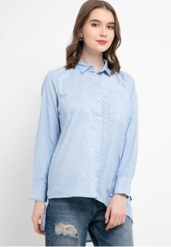 Lois Jeans blue Polyester Shirt KC713 69532AAF0F4586GS_1