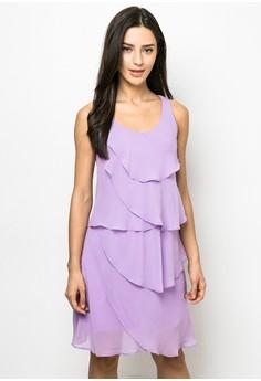 Layered Short Dress