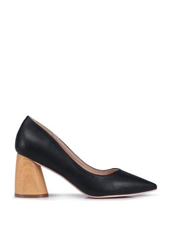 nose black Wooden Heel Pumps 1AE04SH0EF8BD0GS_1