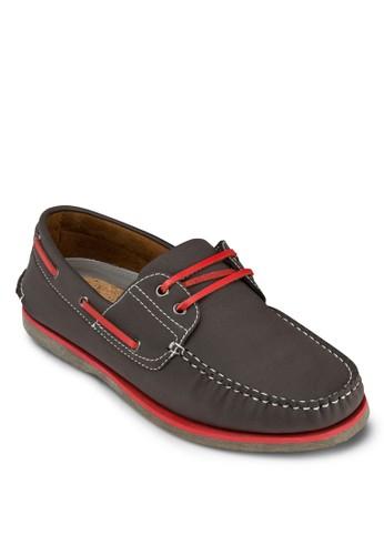 撞色繫帶esprit台灣網頁船型鞋, 鞋, 鞋
