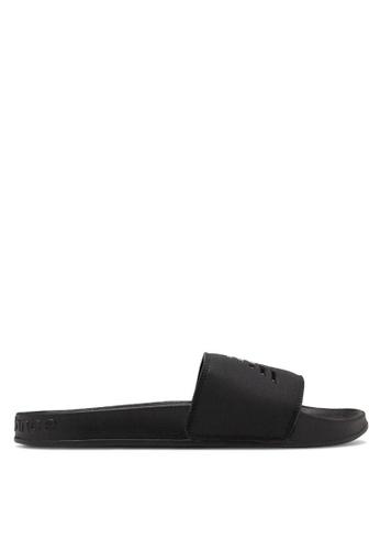 New Balance black 200 Lifestyle Sandals 209BBSHF75CF4DGS_1