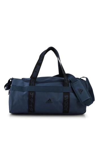 ADIDAS navy 4athlts small duffel bag 162DFAC306C328GS_1