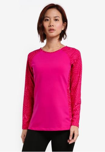 AVIVA pink Long Sleeve Shirt 63337AAF3AF38EGS_1