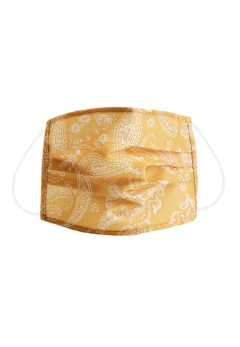 Violeta by MANGO yellow 2 Pack Reusable Homologated Facemask 9CD87ESDDA9299GS_1