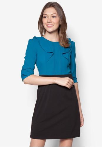 Suki 假esprit台灣官網兩件七分袖連身裙, 服飾, 洋裝