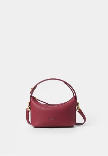 Rabeanco red RABEANCO Bucket Mini Bag - Red 4FAE2AC1D81290GS_1