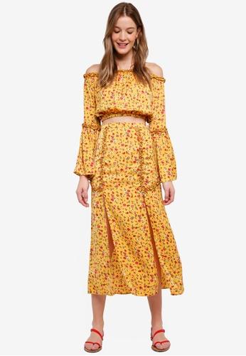 The Fifth Label yellow Sonic Skirt 18D0DAA36DDEA6GS_1