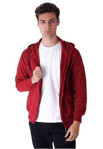 House of Cuff multi Jaket Polos Hoodie Zipper Sweater Warna Marun AEE9AAA9DDDADDGS_1