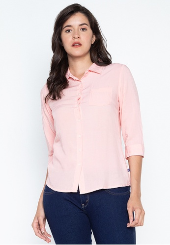 133a68a9e0c Shop RRJ Modern Long Sleeves Collared Shirt Online on ZALORA Philippines