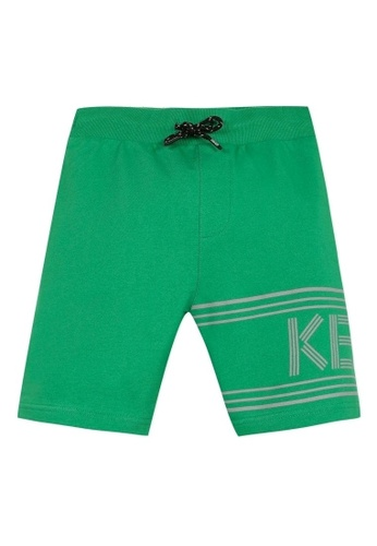 KENZO KIDS green KENZO BOYS BERMUDAS EAF43KA13920B7GS_1