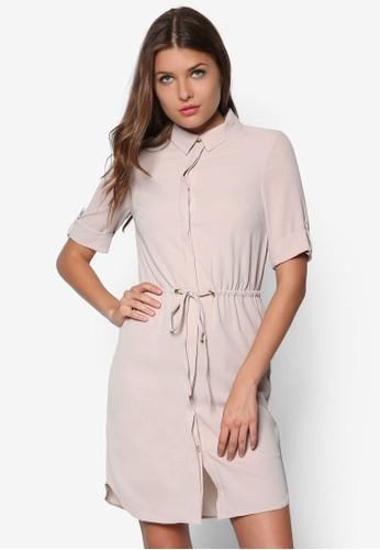 Mink 襯衫式連身裙, 上班esprit outlet台北時尚, 洋裝