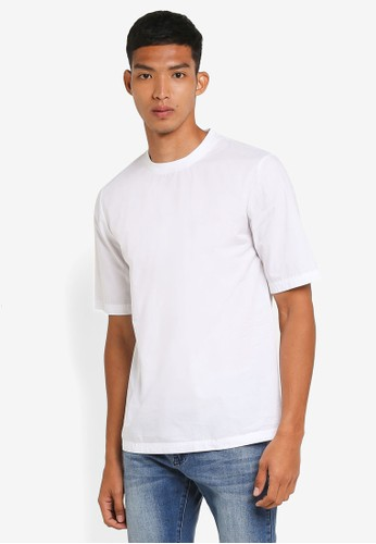 !Solid white Nils Oversized T-Shirt B8667AA90F37C5GS_1