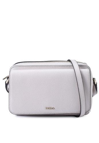 Furla white Babylon M Crossbody Bag 92869AC2A1CD42GS_1