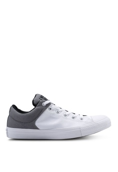434491b65f Converse grey and white Chuck Taylor All Star High Street Beach Flow Ox  Sneakers 4AAFASH81DEC8AGS_1