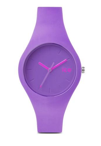 zalora taiwan 時尚購物網Ice Ola 矽膠圓錶, 錶類, 休閒型