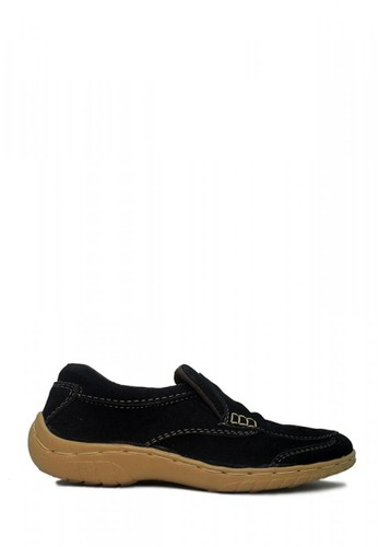 D-Island black D-Island Shoes Slip On Driving Comfort Suede Black DI594SH55WSIID_1