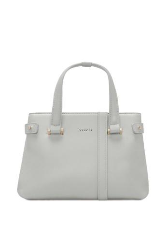 VINCCI grey Satchel Bag 893BEAC10B8C23GS_1