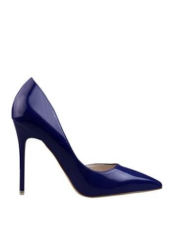 Twenty Eight Shoes 海軍藍色 單邊通幫晚裝及新娘鞋 VP-6385 EF463SHD88A11CGS_1