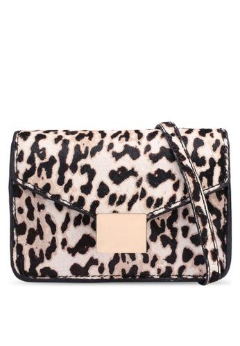 Shop MANGO Animal Print Leather Bag Online on ZALORA Philippines 7007c6900b