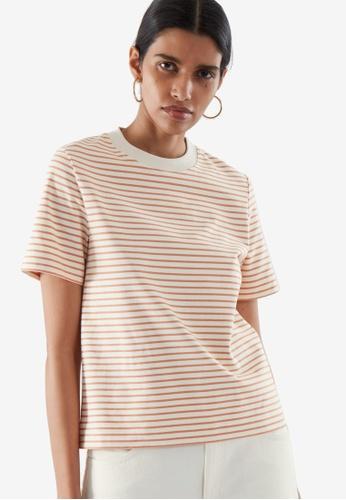 COS orange Slim-Fit T-Shirt 66951AA3E00DCFGS_1