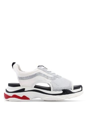 Keddo 白色 網眼涼鞋 BE333SHFD304D5GS_1