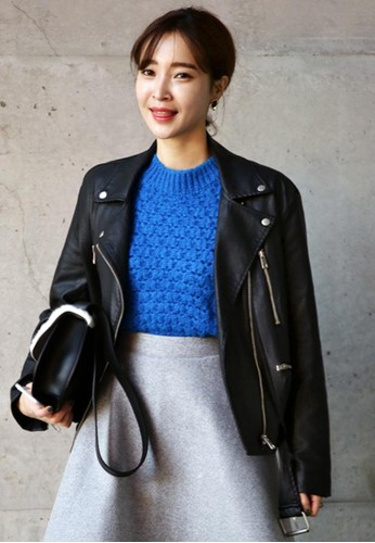 拉鏈口袋裝飾皮夾esprit 香港 outlet克, 服飾, 外套