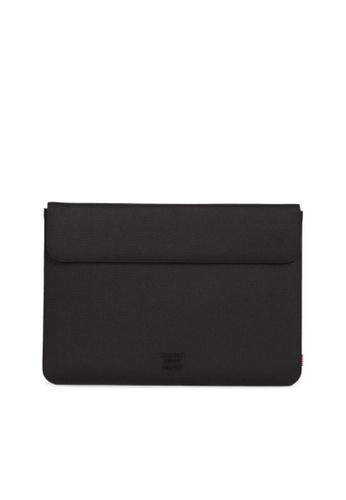 """Herschel black Herschel Spokane Sleeve for MacBook Pro 13"""" (new) and iPad Pro 12.9"""" E4799ACC9888CCGS_1"""
