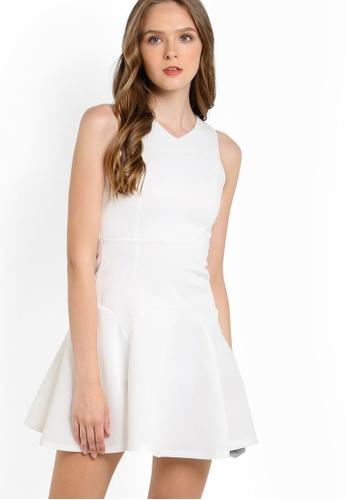 Megane white Elvire Dress ME617AA13HGCMY_1