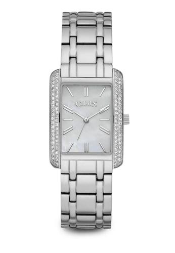 Chaps silver Chaps Reece Silver/Steel Stainless Steel Watch CHP3030 CH325AC14NJXMY_1