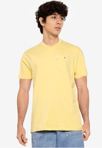 Ben Sherman yellow Signature Pocket Tee C4092AADB1A4C1GS_1