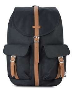 c9479e54a4f Herschel black Dawson Backpack HE114AC15KWMMY 1