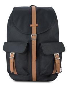 62e5d1caef Herschel black Dawson Backpack HE114AC15KWMMY 1