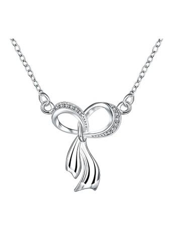 Tiaria white Tiaria Gold Plated NecklacePendant Fashion SPN074--K09 A8D9EAC83A3348GS_1