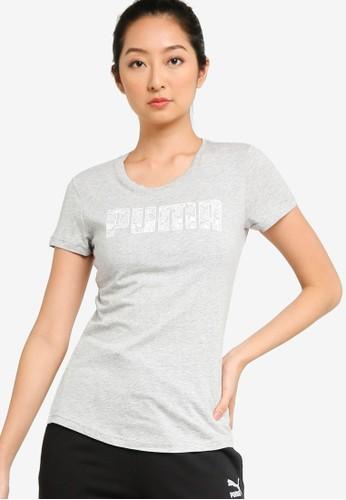 PUMA grey Ka Women's Tee 3962CAA7A65D22GS_1