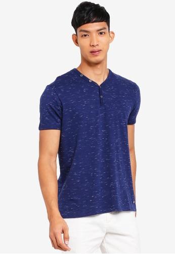 ESPRIT navy Short Sleeve T-Shirt 702BEAA4AA360FGS_1