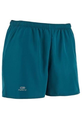 Decathlon KALENJI Celana pendek lari pria run dry - petrol blue - 8519880 FC8B6AA89622EDGS_1