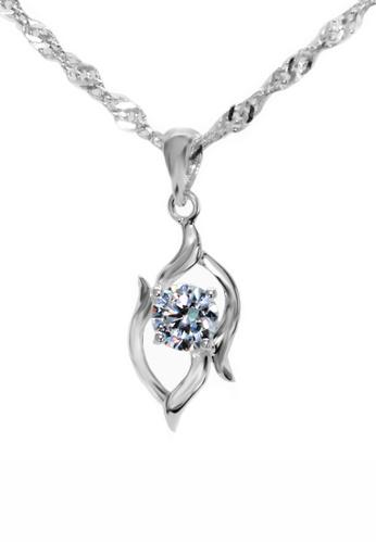 Elfi silver Elfi Genuine 925 Sterling Silver Necklace Pendant SP85 6B201AC3E69344GS_1