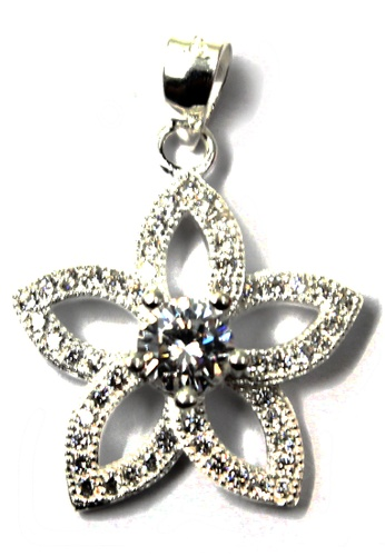 Venice Jewelry silver Noble Princess Pendant VE564AC75RTSPH_1