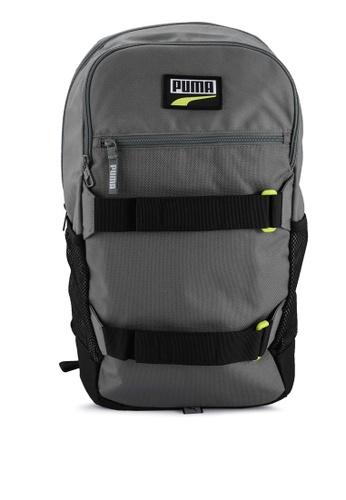 PUMA grey Deck Backpack 1FADFAC98C07B9GS_1